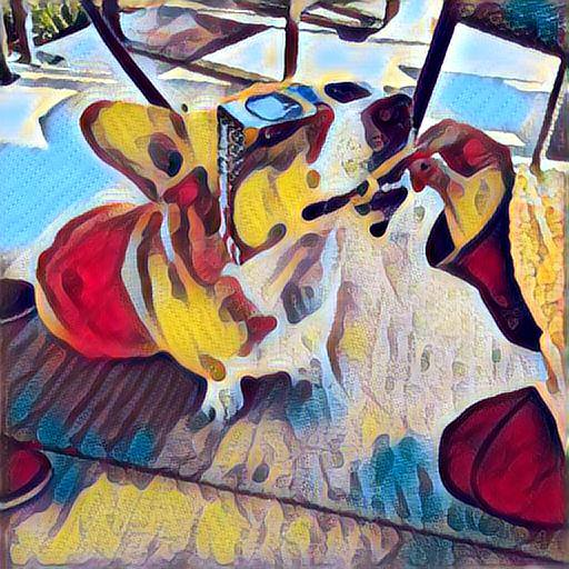 Style image: Salvador Dali, The Enigma of Desire